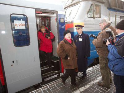 Фотоальбом поезда москва париж